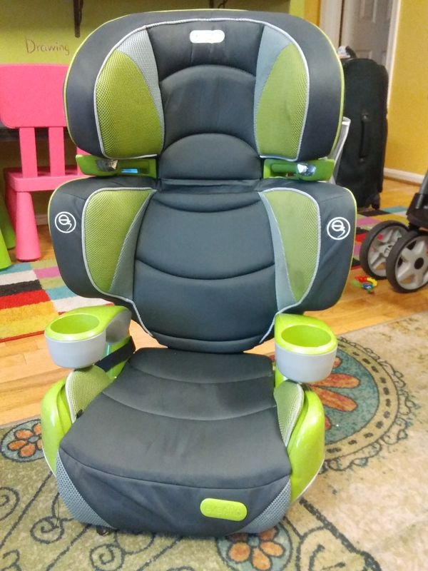 Overflow booster seat