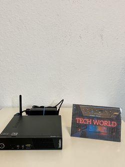 Lenovo Micro Pc Intel Pentium Quadcore 2.20ghz, 4gb Ram, 500gb Sshd, Usb 3.0, Wifi & Bluetooth for Sale in Miami,  FL