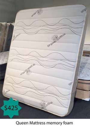 Queen mattress memory foam for Sale in Costa Mesa, CA