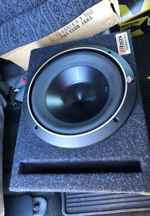 """Frosgate P3 10"""" Sub and box $175 OBO for Sale in Gambrills, MD"""