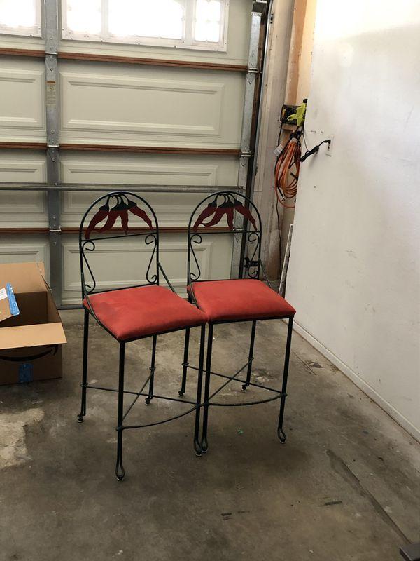Bar stools chili pepper