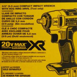 """Brand new Dewalt 20v Xr Brushless Impact Wrench 3/8"""" Tool Only Sealed Box $125 for Sale in Fresno, CA"""