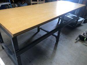 Uline workshop table. for Sale in Danbury, CT