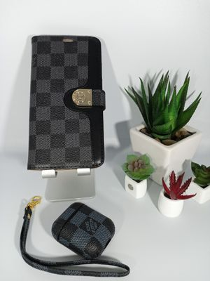 Set of Fashionable Cases for iPhone 11 Pro and Case for AirPods for Sale in Loma Linda, CA