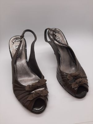 Franco Sarto size 6 1/2 brown heels for Sale in Parma, OH