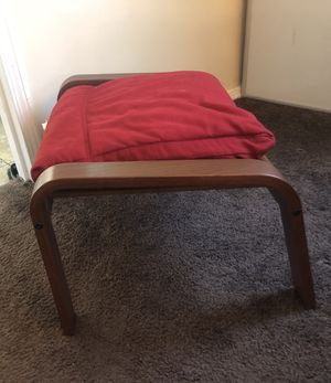 Red ottoman for Sale in Madison Heights, MI