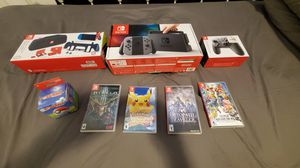 Nintendo Switch + Games and accessories for Sale in Haines City, FL