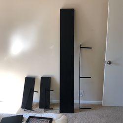 Bundle Of 3 Black IKEA Shelves for Sale in San Marino,  CA