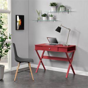 Ameriwood Home Campaign Desk, Red for Sale in Alexandria, VA