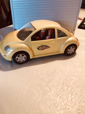 Lanard Toys Vintage WOW Action Girls 2 figures and VW Bug (Free Shipping) for Sale in PA, US