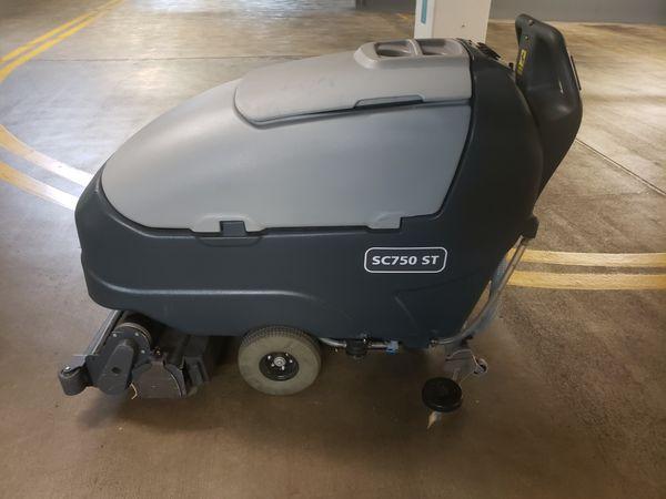 Advance sc750 st scrubber