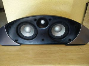 Infinity center channel speaker..mint!! Like new!! Sounds awesome!! Beautiful design!! for Sale in Miami, FL