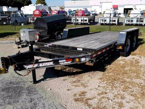 2013 towmaster tilt trailer 14k capacity for Sale in Chicago, IL