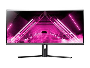 Brand new, unopened Dark Matter by Monoprice 34in Curved Ultrawide Gaming Monitor - 21:9, 1500R, UWQHD, 3440x1440p, 144Hz, 4ms GTG, DisplayHDR 400, A for Sale in Inglewood, CA