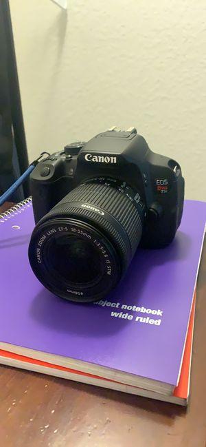 Canon rebel t5i for Sale in San Jose, CA