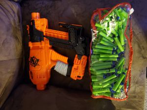 Nerf gun with bullets for Sale in Citrus Heights, CA