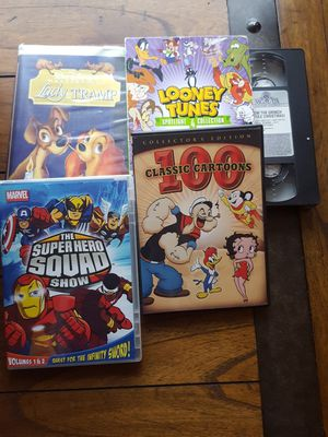 Cartoon DVDs and VHS for Sale in Bothell, WA