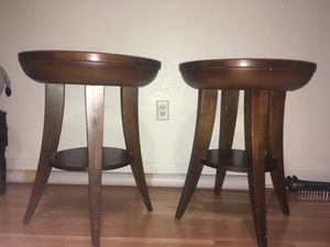 Wooden Bed Stand 2pcs FREE for Sale in Hollywood, FL