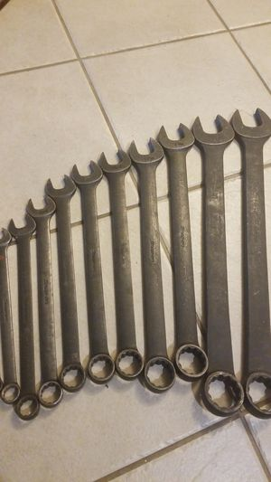 Snap-on industrial finish wrench set for Sale in San Diego, CA