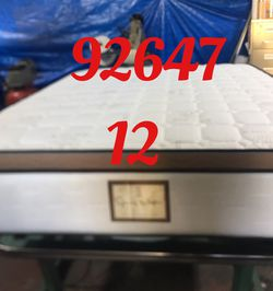"12"" Thick foam encase pillow top mattress. Free delivery. Twin Mattress only-$199 Mattress & box spring-$235 Full Mattress only-$265 Mattress and for Sale in Huntington Beach,  CA"
