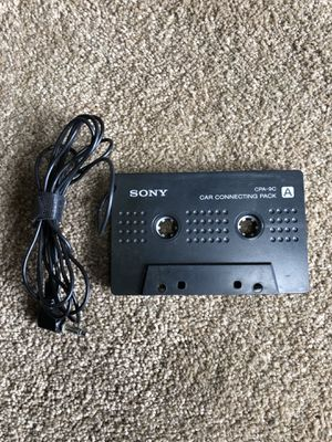 Sony Cassette Adapter / CPA-9C / Car Connecting Pack / Headphone Jack Adapter. for Sale in Lexington, KY