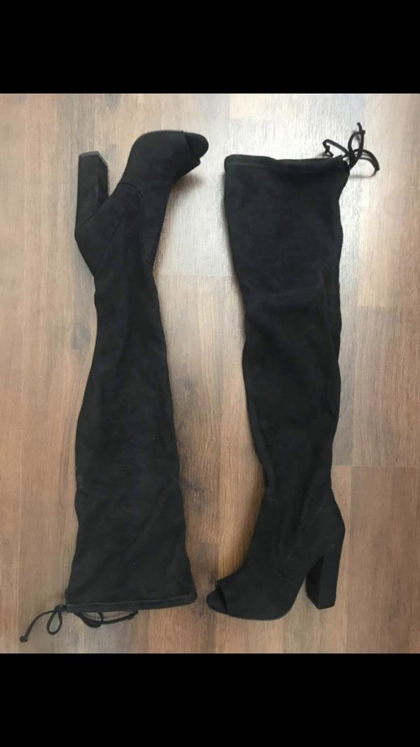 New Steve Madden Over the Knee Boots Size 6