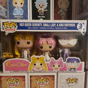 Sailor Moon funko 3pack for Sale in Baldwin Park, CA