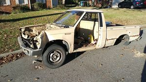 Free truck shell 85 nissan 720 will not have rear end needs flatbed for Sale in Virginia Beach, VA