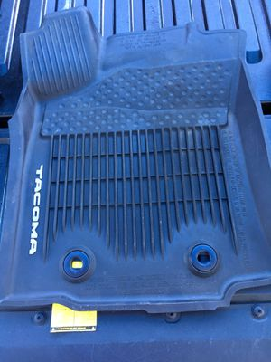 Toyota Tacoma All-Weather Floor Liners, Cargo Net, WeatherTech SunShade (New) $100 for Sale in Long Beach, CA