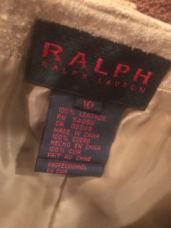 Leather Skirt Ralph Lauren