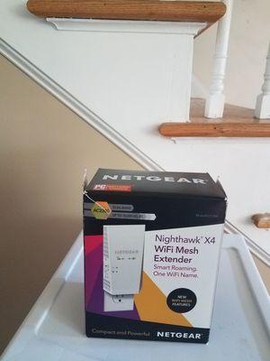 Netgear Nighthawk X4 WIFI mesh Extender for Sale in Chelmsford, MA