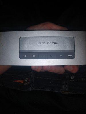 Bose SoundLink Mini for Sale in Salt Lake City, UT