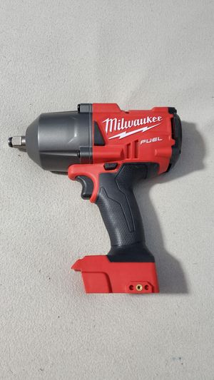 Milwaukee M18 Fuel Brushless 1/2in High Torque Impact Wrench. Tool Only. Price Is firm for Sale in Plainfield, IN
