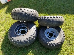 Atv tire and wheels for Sale in Belpre, OH