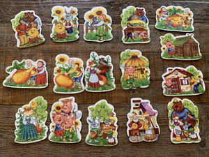 FREE Soft puzzles based on Russian folk tales. for Sale in Dulles, VA