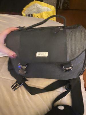 Nikon - Digital SLR Camera Bag - Black for Sale in Concord, CA