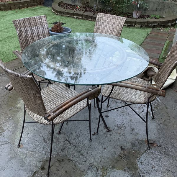 Old Pier 1 Table, Could Be Indoor Or Outdoor. $100. U Haul.