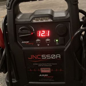 Jump And Carry Jump starter for Car, Mower, etc Air Compressor for Tires Or Sports Balls, AND Power Source! for Sale in Washington, PA