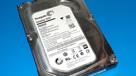"2tb 2 Terabyte 3.5"" SATA Desktop Hard Drive USED for Sale in Suffolk,  VA"