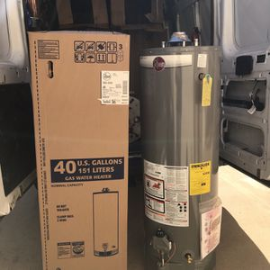 WATER HEATERS!! ALL SIZES!! WE CAN INSTALL...SAVE YOUR CASH!!! for Sale in Houston, TX