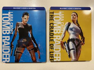 Tomb Raider Bluray Dvd Steelbook Collection for Sale in Aurora, CO