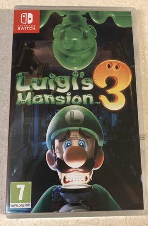 Luigis Mansion 3 (Brand New/Sealed) for Sale in San Antonio, TX