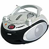 New NAXA Electronics Portable CD Player and AM/FM Stereo Radio (Silver) for Sale in Oceanside, CA