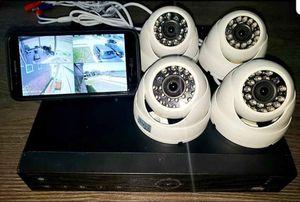 4- 1080p security cameras with install/ 4- camaras HD con instalacion incluyida..$SPECIAL DEAL$ for Sale in Dallas, TX