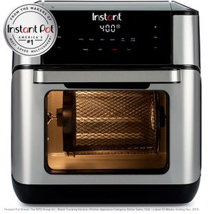 Instant Vortex Plus 10QT 7-in-1 Digital Air Fryer Oven, with Rotisserie Spit, Drip Pan, and 2 Cooking Trays BRAND NEW! for Sale in Plantation, FL