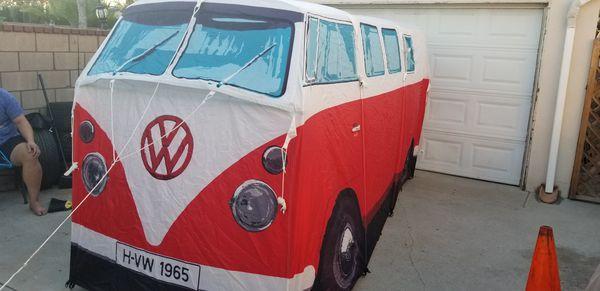 VW Volkswagen T1 Camper Van Adult Camping Tent .