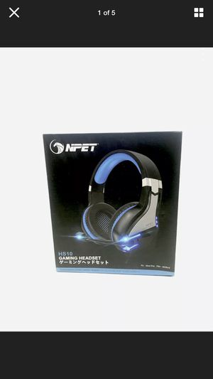 NPET HS10 Gaming Headset PS4 PC Xbox Noise Cancelling Over-Ear Headphones Mic for Sale in Escondido, CA