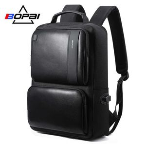 Bopai Faux Leather Laptop Backpack for Sale in Los Angeles, CA