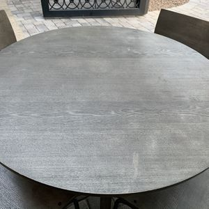 Crate And Barrel Dining Table With Chairs for Sale in Scottsdale, AZ