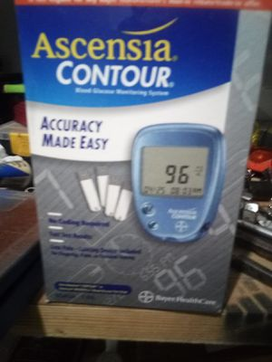 Blood glucose meters new in box never used comes with carrying case and everything you need in it for Sale in Lima, OH